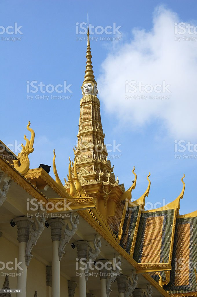 Spire of Throne Hall royalty-free stock photo