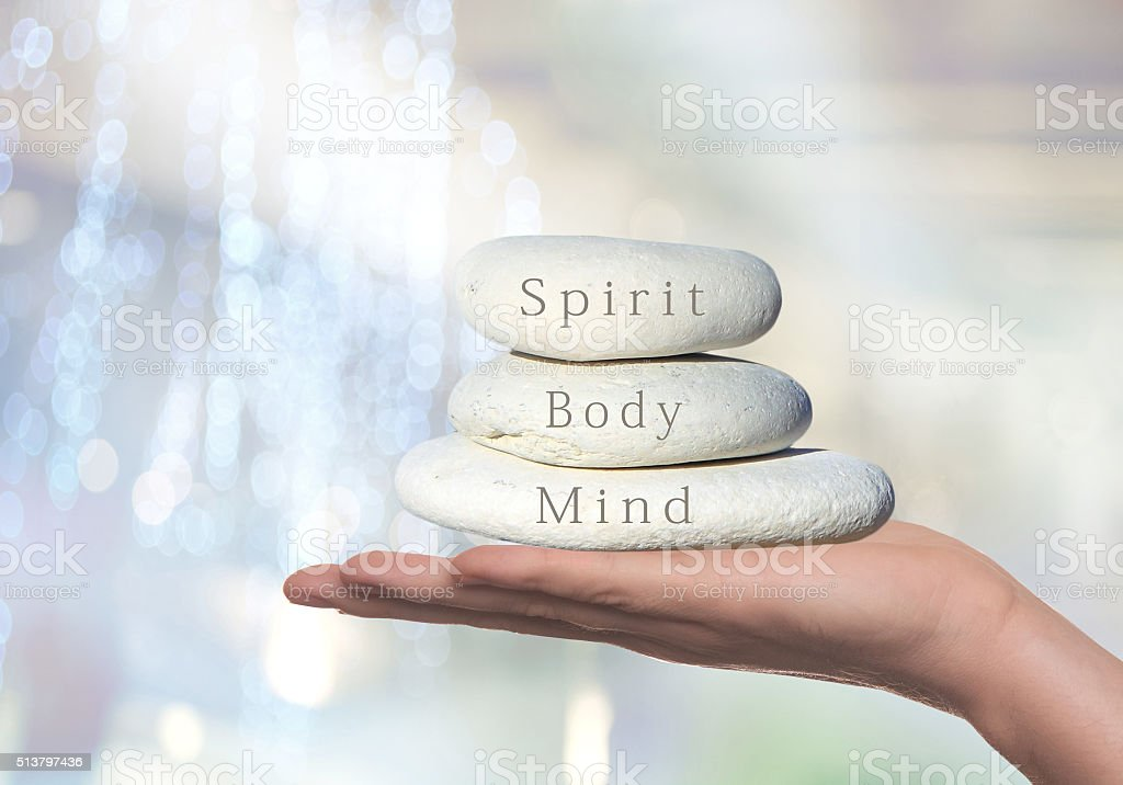 Spirit, Body and Mind, stock photo