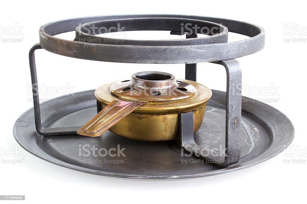 Spirit cooker royalty-free stock photo