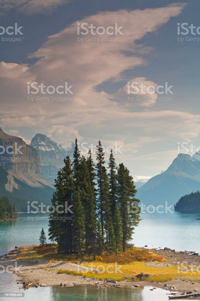 Spirit Island stock photo
