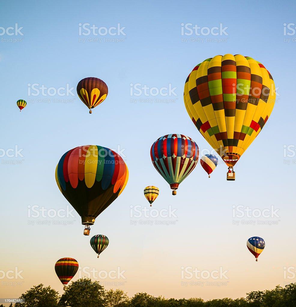 Spirit of Boise Balloon Classic, 2012 stock photo