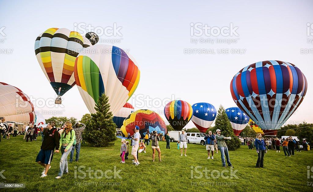 Spirit of Boise Balloon Classic, 2012 royalty-free stock photo