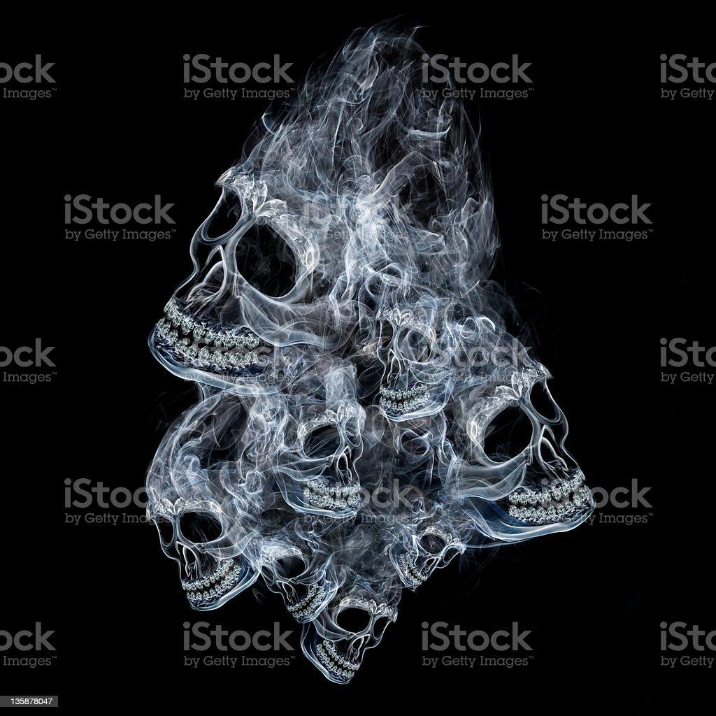 Spirit of death stock photo