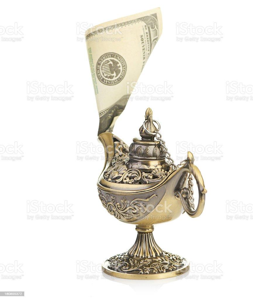 spirit of money royalty-free stock photo