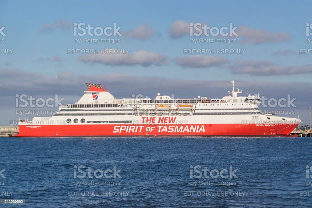 Spirit of Tasmania stock photo