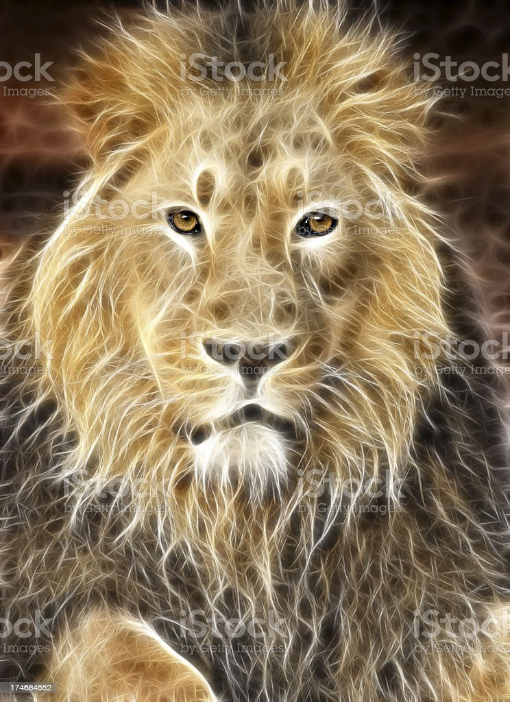 Spirit Of The Lion royalty-free stock photo