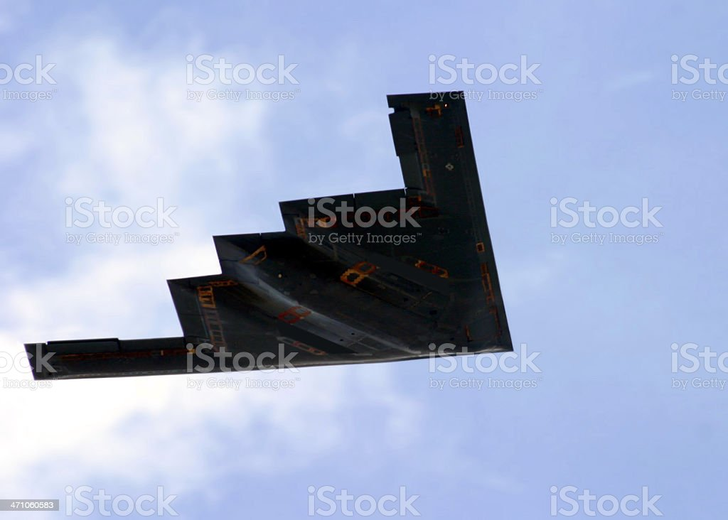 B-2 Spirit Steath Bomber royalty-free stock photo