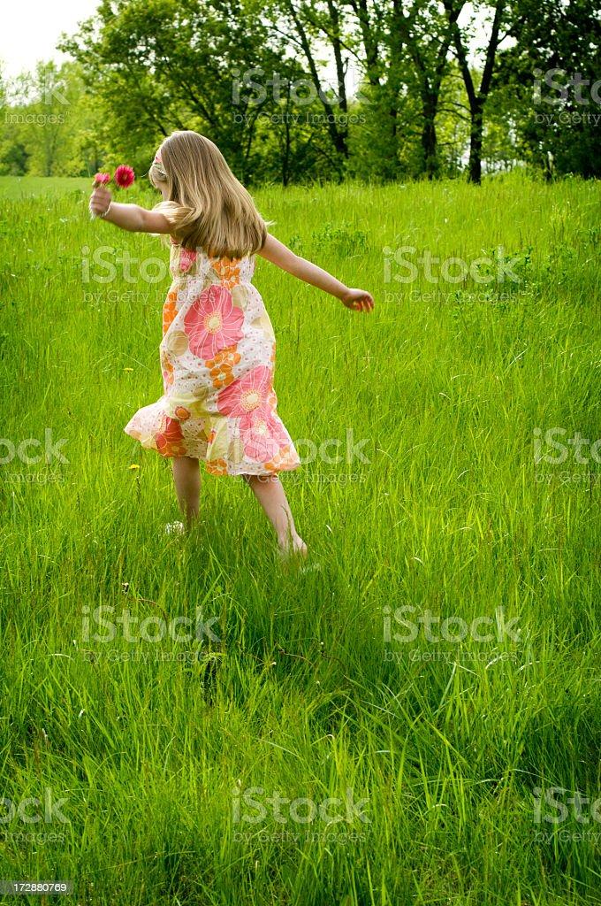Spirited Girl royalty-free stock photo