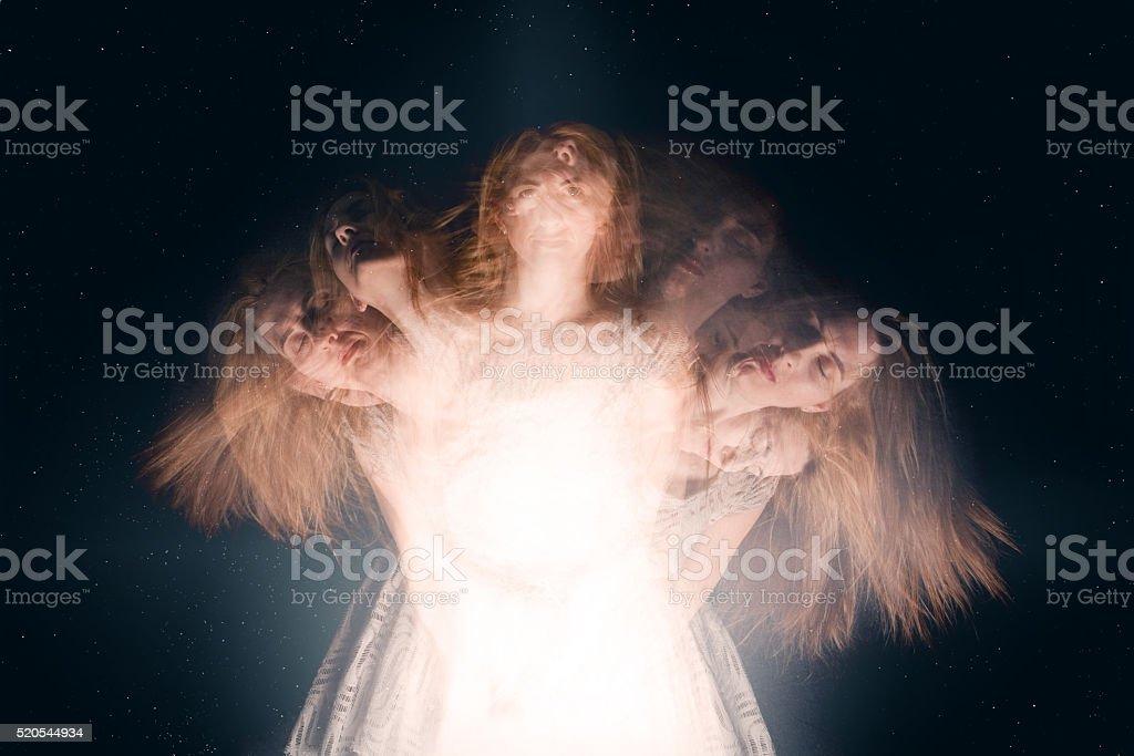 Spiritual Awakening Concept stock photo
