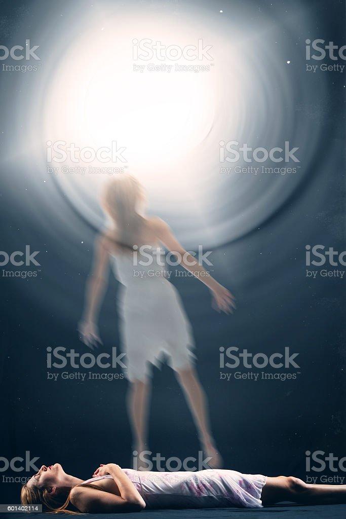 Spiritual Experience stock photo