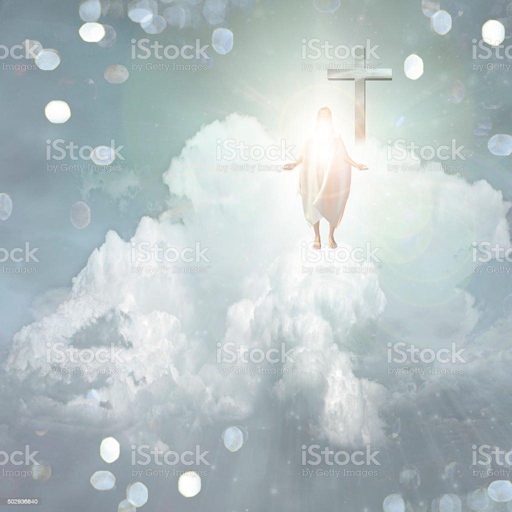 Spiritual Light stock photo