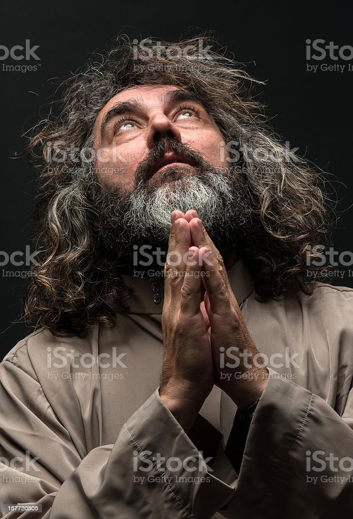 Spiritual Man royalty-free stock photo
