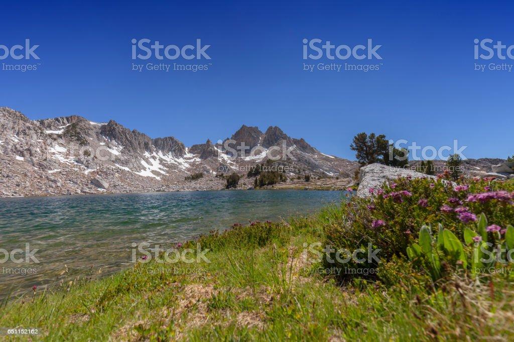 Spiritual Mountain Garden stock photo