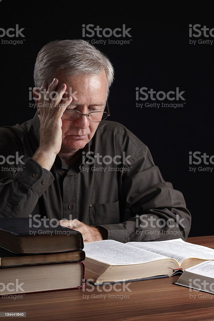 Spiritual searching stock photo