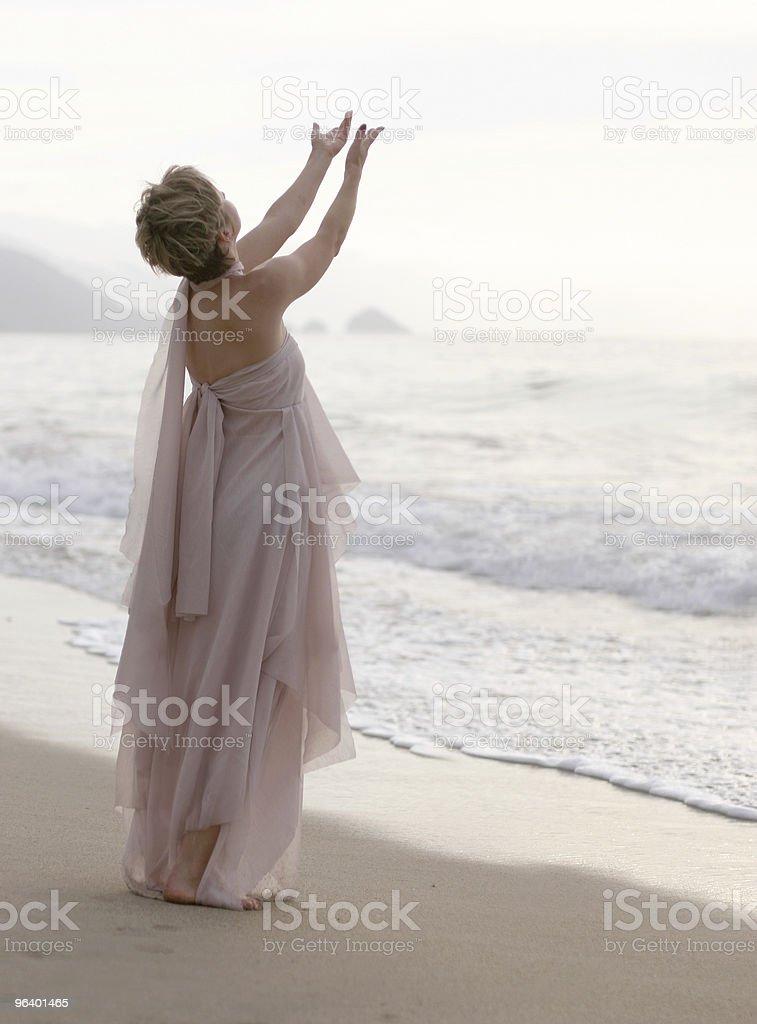 Spiritual woman royalty-free stock photo