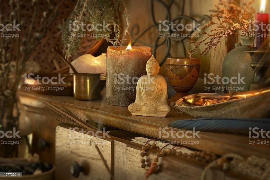Spiritualism stock photo