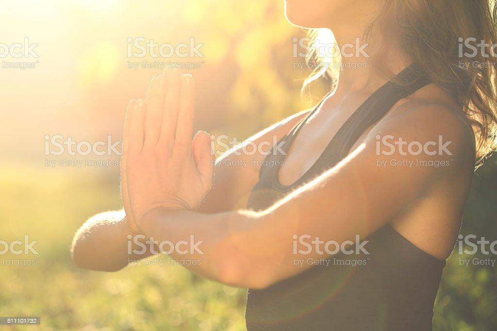 Spirituality stock photo