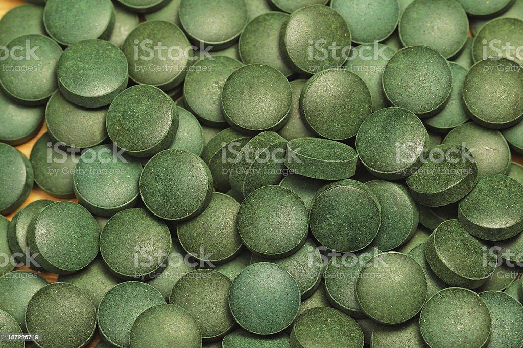 Spirulina royalty-free stock photo