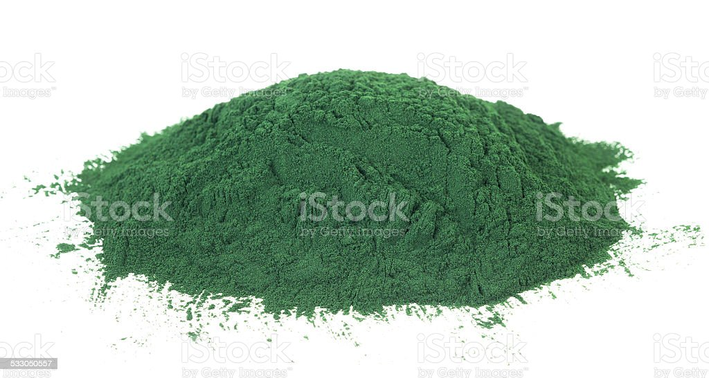Spirulina stock photo