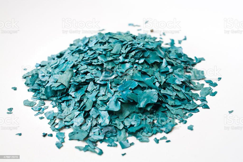Spirulina Sun Dried Flake stock photo