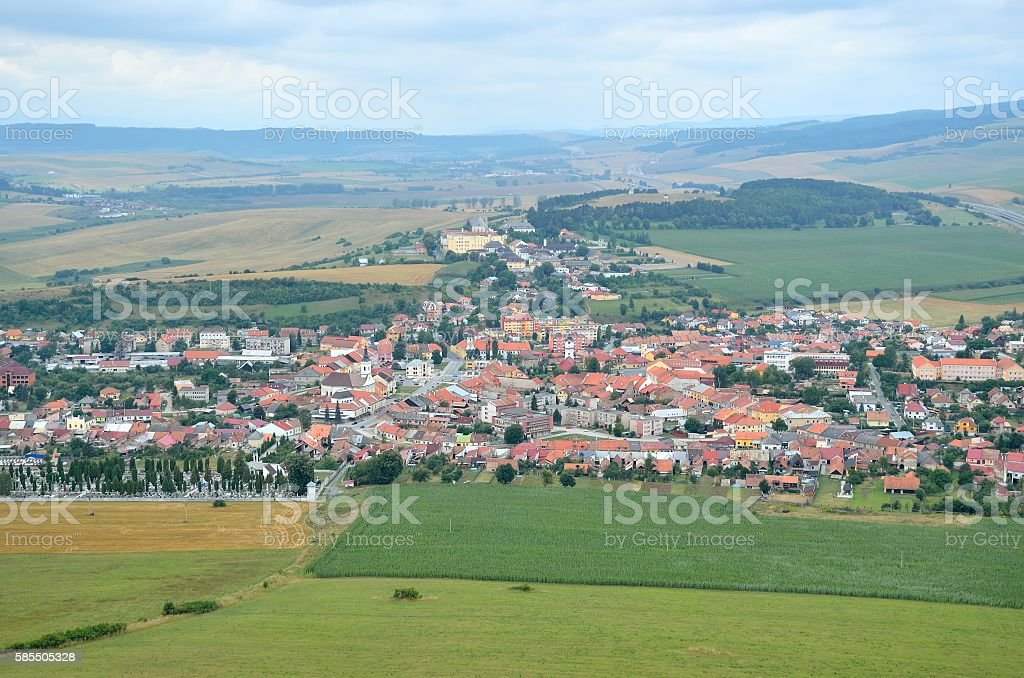 Spisske Podhradie Town. stock photo