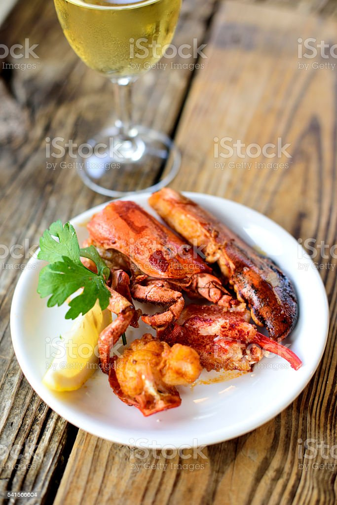 Spisy Lobster stock photo
