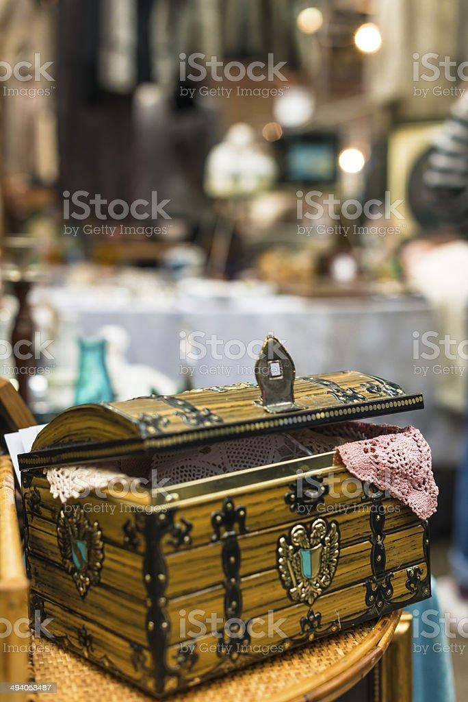 Spitalfields Market, East End of London stock photo