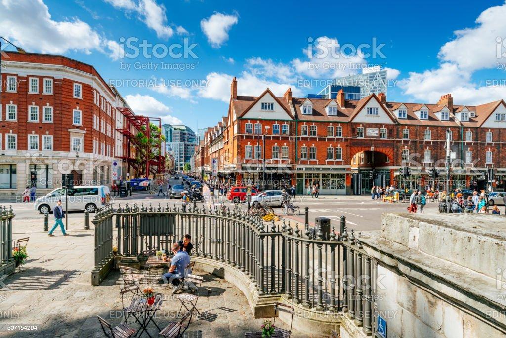 Spitalfields Market, London, UK stock photo