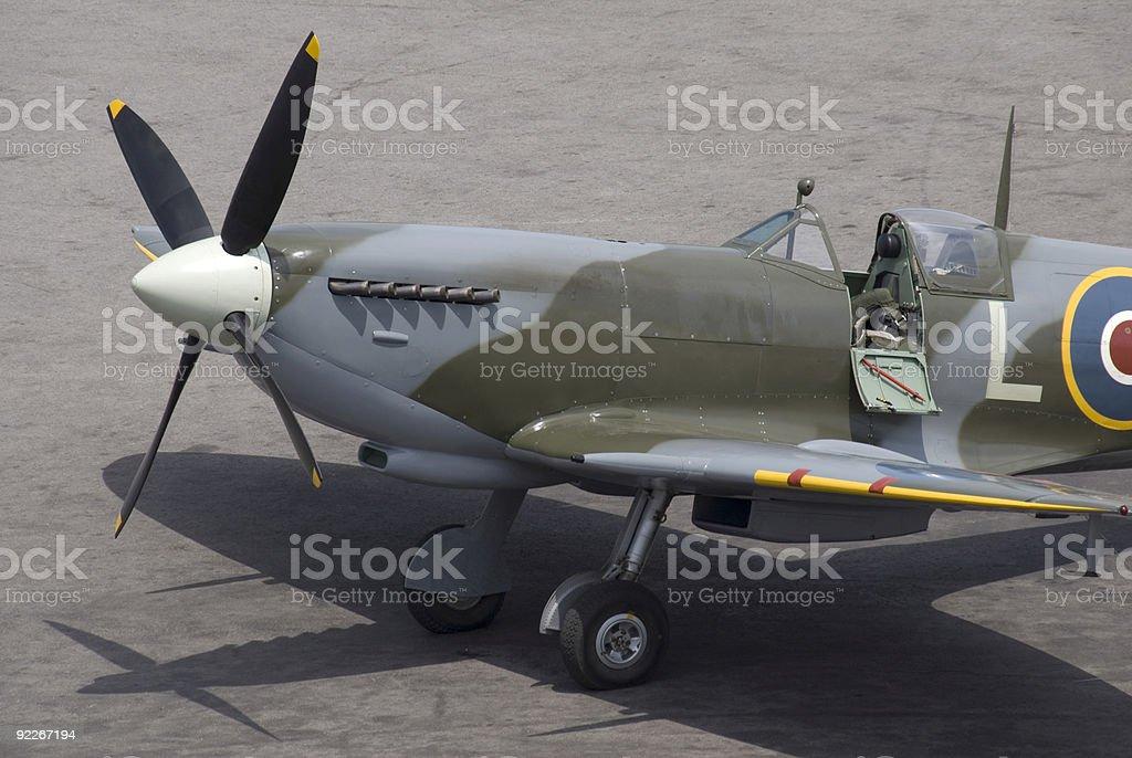 Spitfire royalty-free stock photo