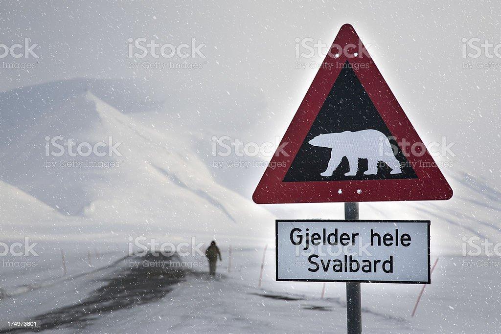Spitsbergen royalty-free stock photo