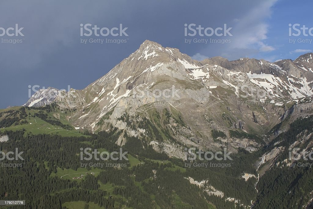 Spitzhorn royalty-free stock photo