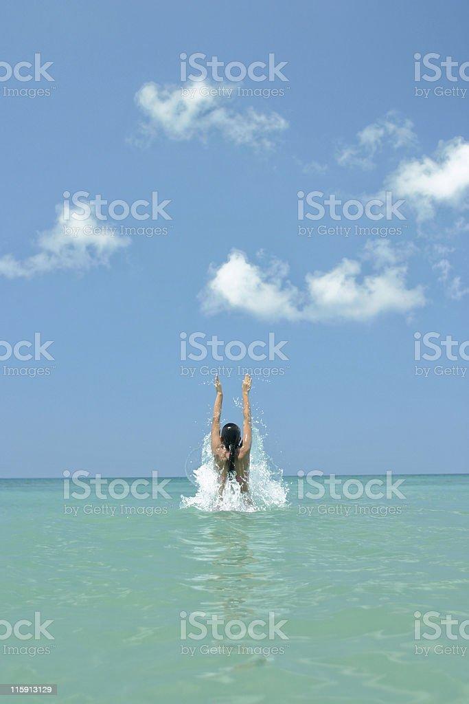 splash 2 stock photo