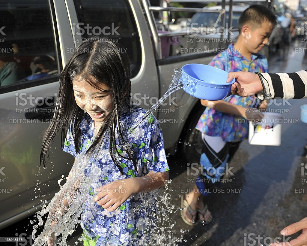 splash a water royalty-free stock photo