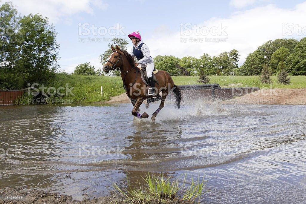 Splash happy. royalty-free stock photo