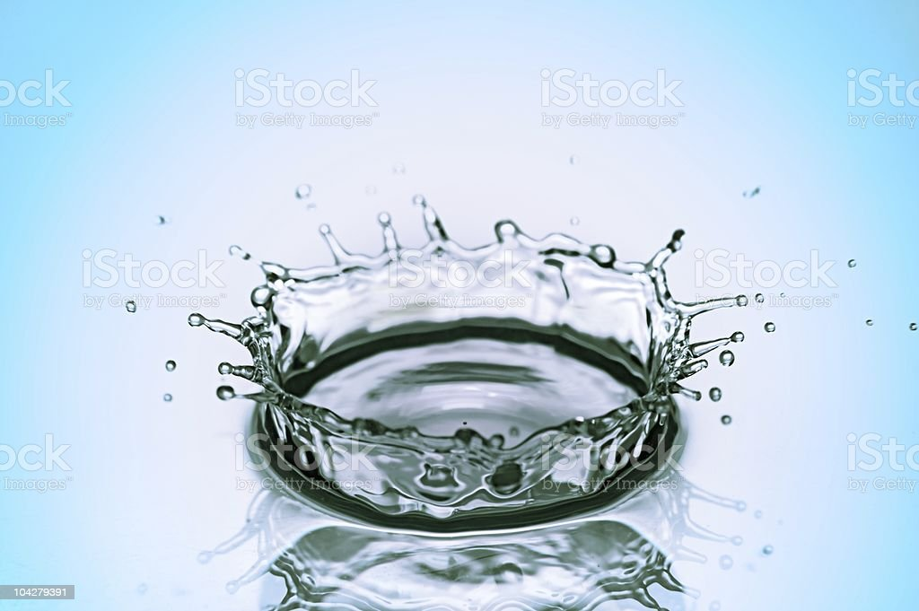 splash of water royalty-free stock photo