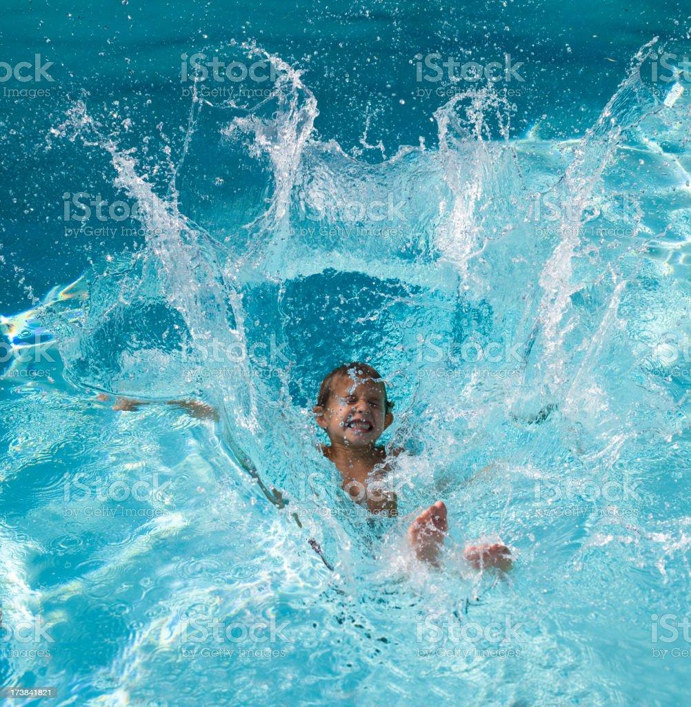 Splash royalty-free stock photo