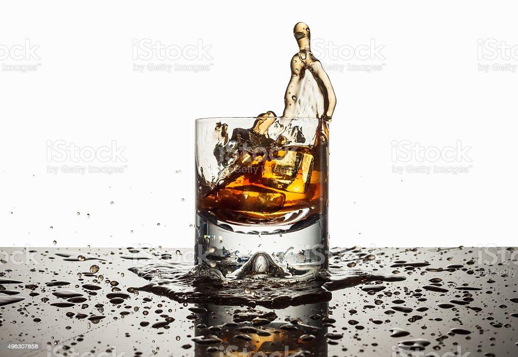 Splash the Liquor stock photo