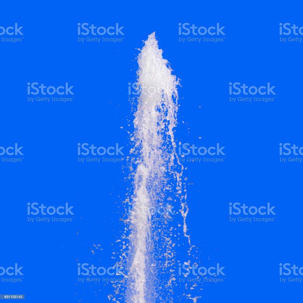 Splash Water Fountain stock photo