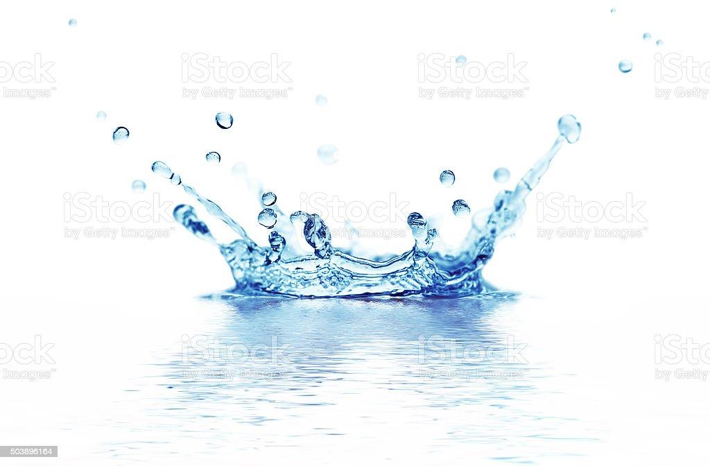 splash water stock photo