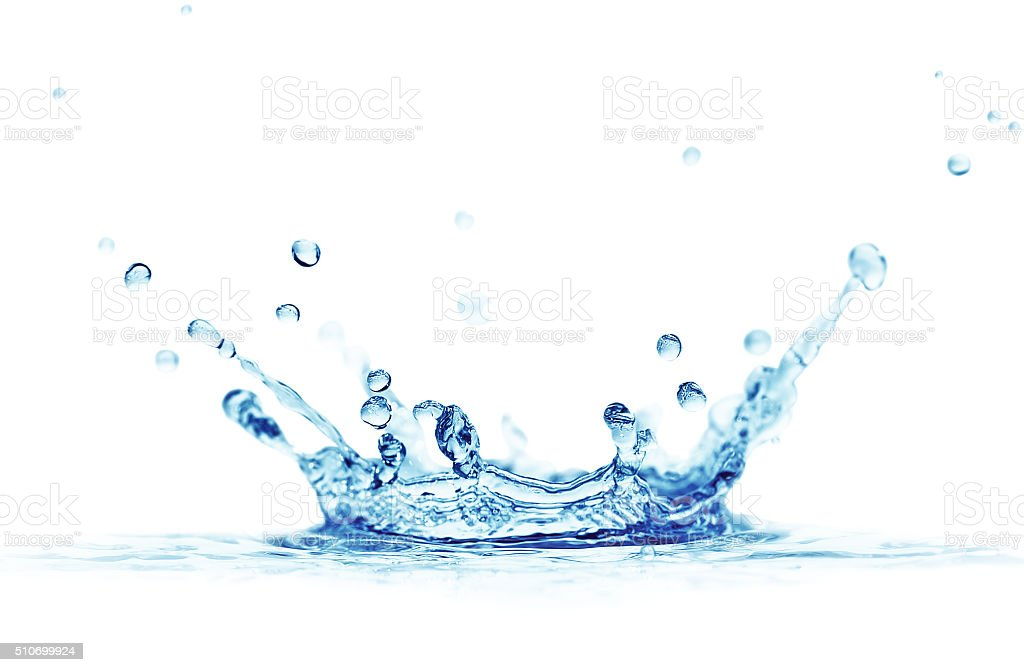 splash water stock photo