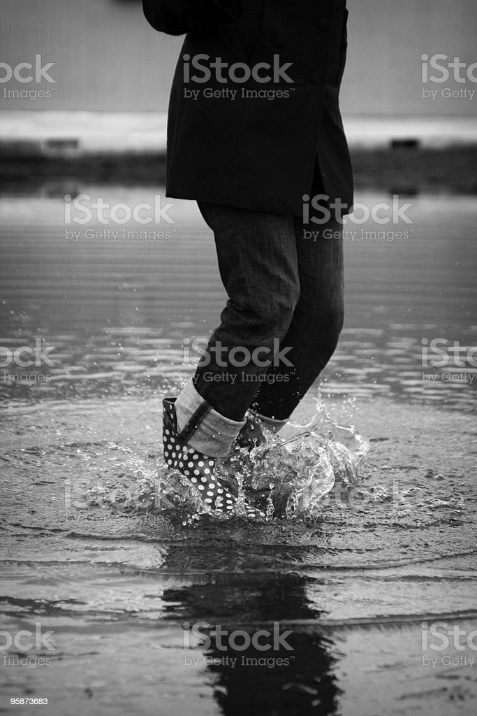 splasher royalty-free stock photo