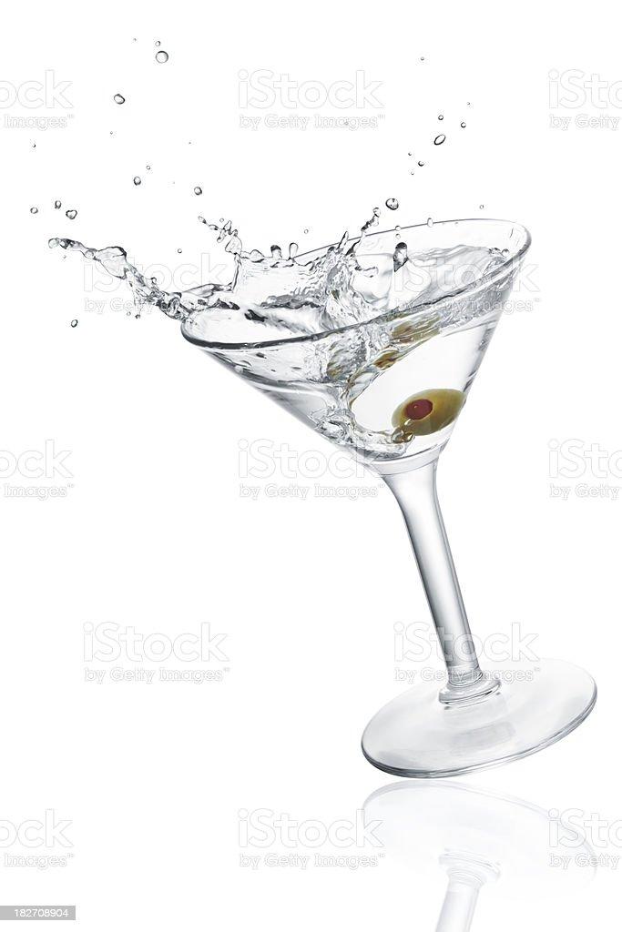 splashing cocktail (XXXL) stock photo
