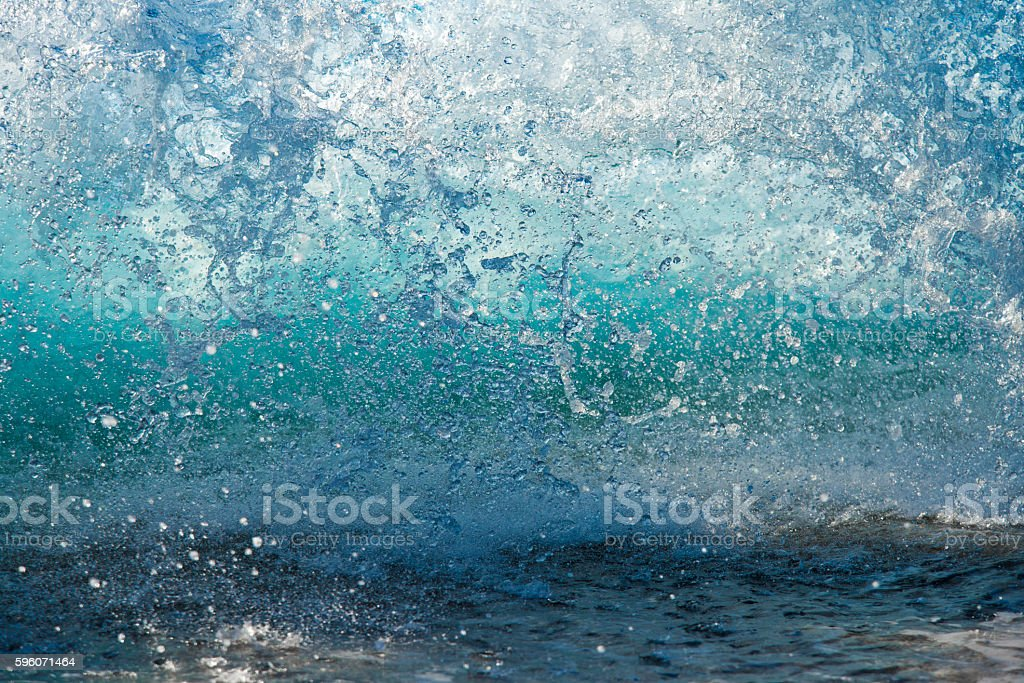 splashing sea water stock photo