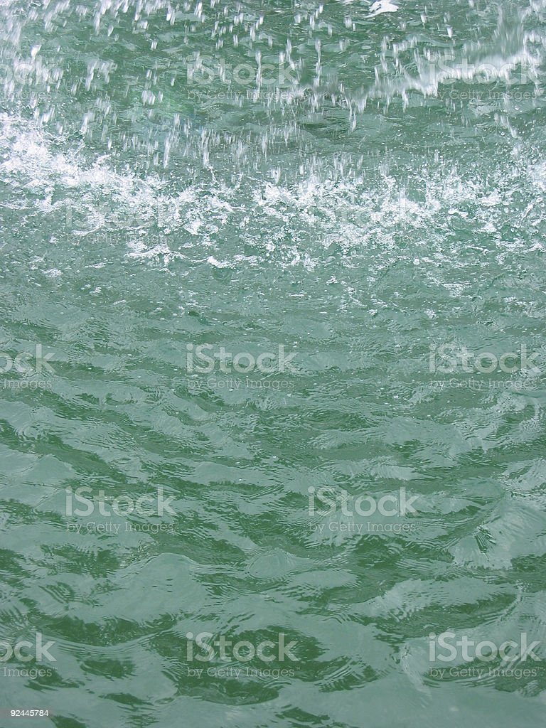 splashing water 2 royalty-free stock photo