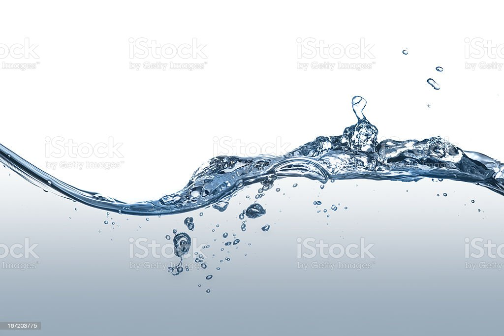 splashing water royalty-free stock photo