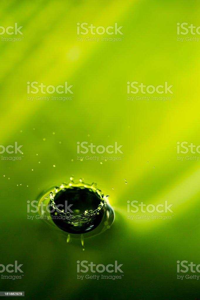 Splashing water surface royalty-free stock photo
