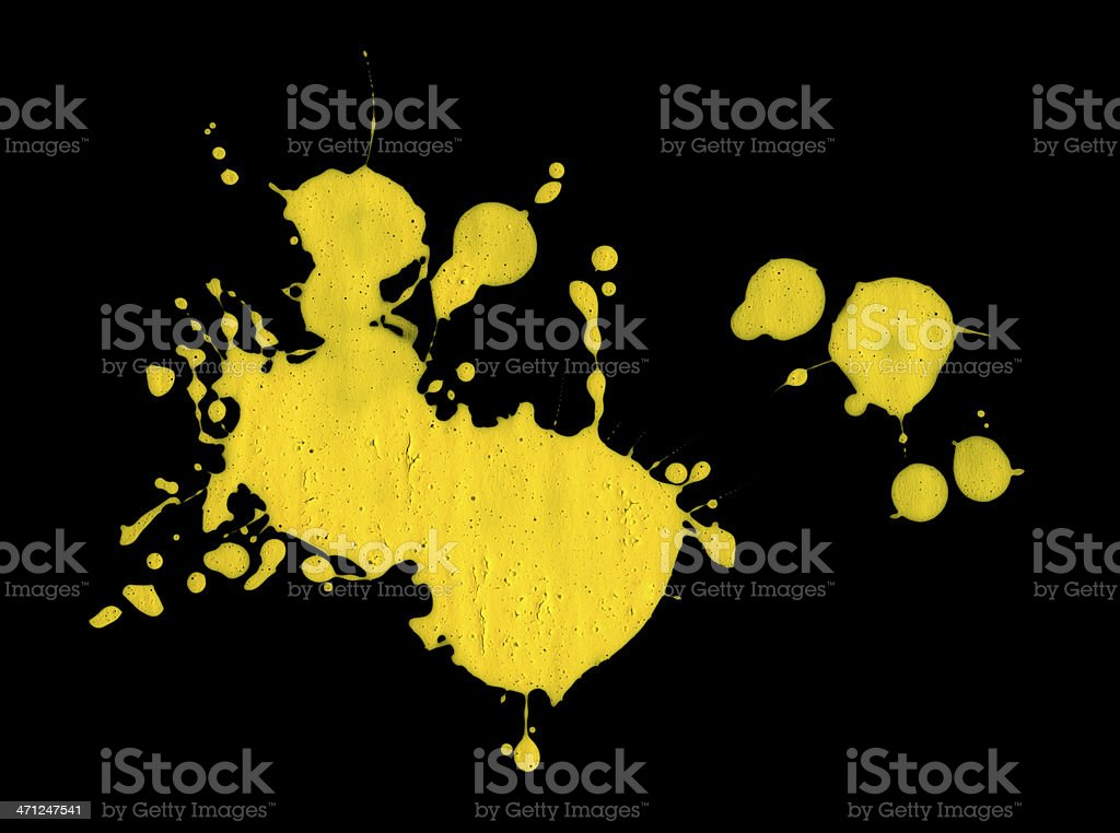 splatter royalty-free stock photo