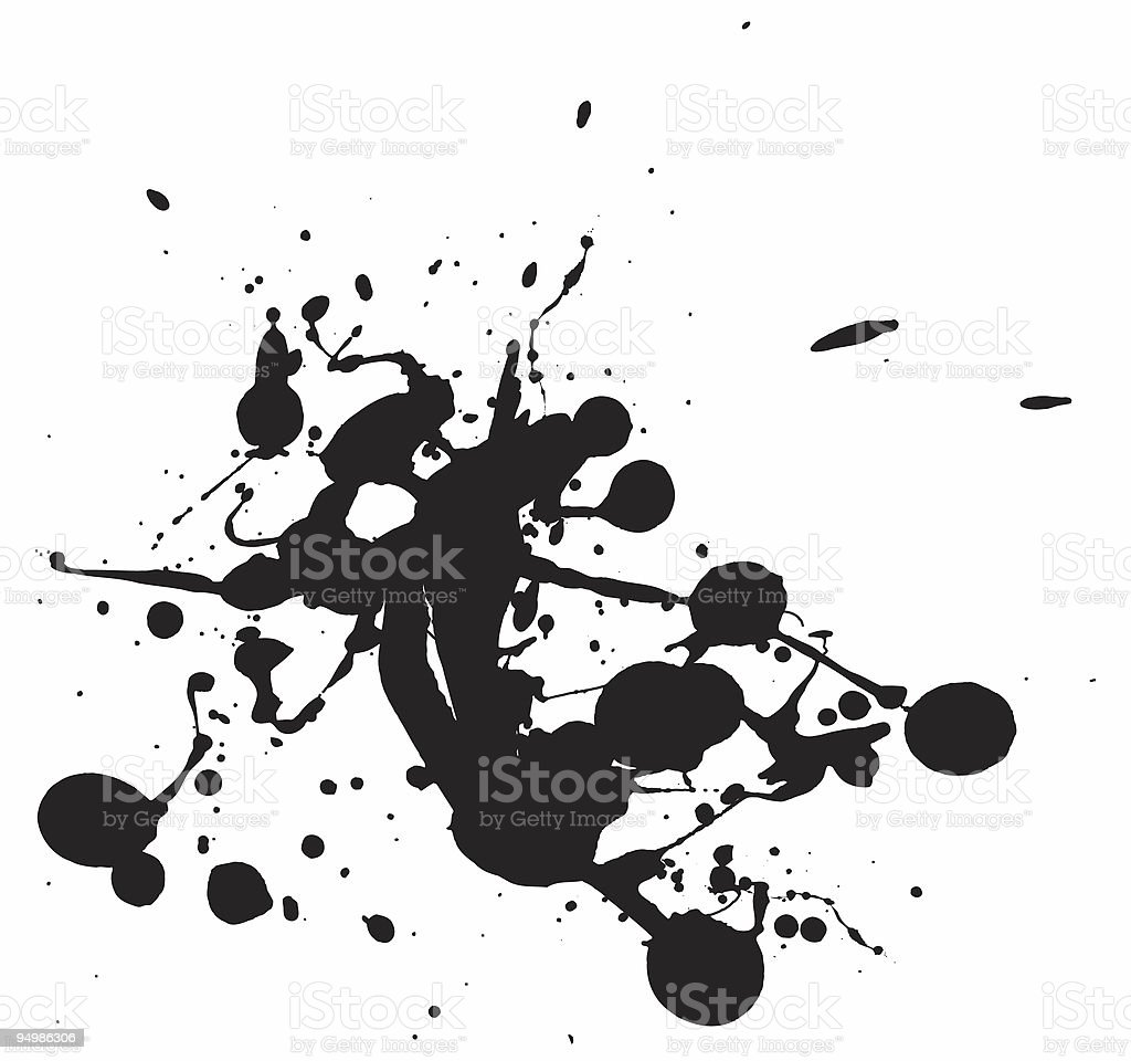 Splatter stock photo