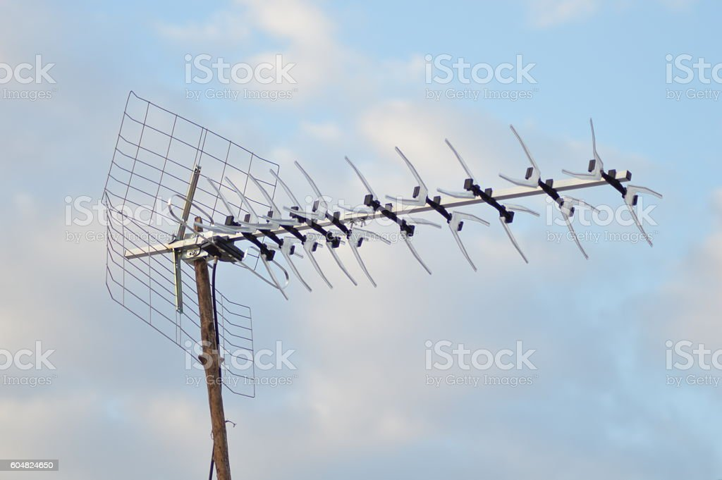 Antenne rateau stock photo