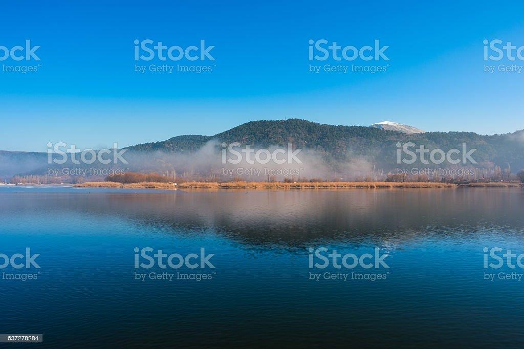 Splendid image of Lake Golcuk stock photo